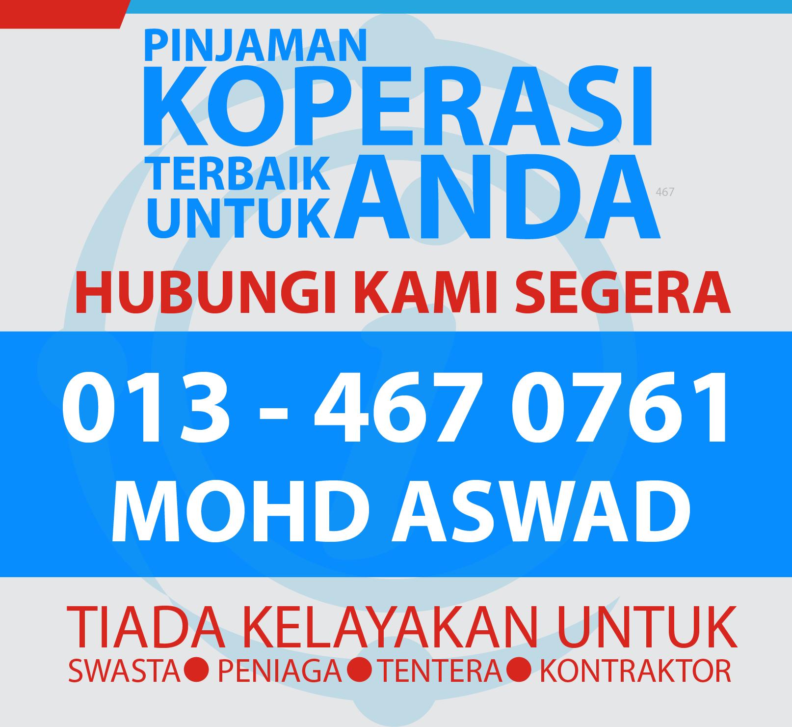 hubungi perunding pinjaman koperasi malaysia